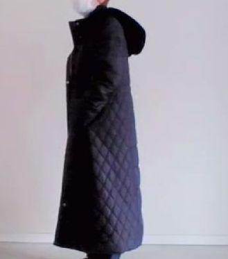 リブ イン コンフォート 寝袋みたいにあったか!細見せにこだわった撥水(はっすい)超ロングダウンコート