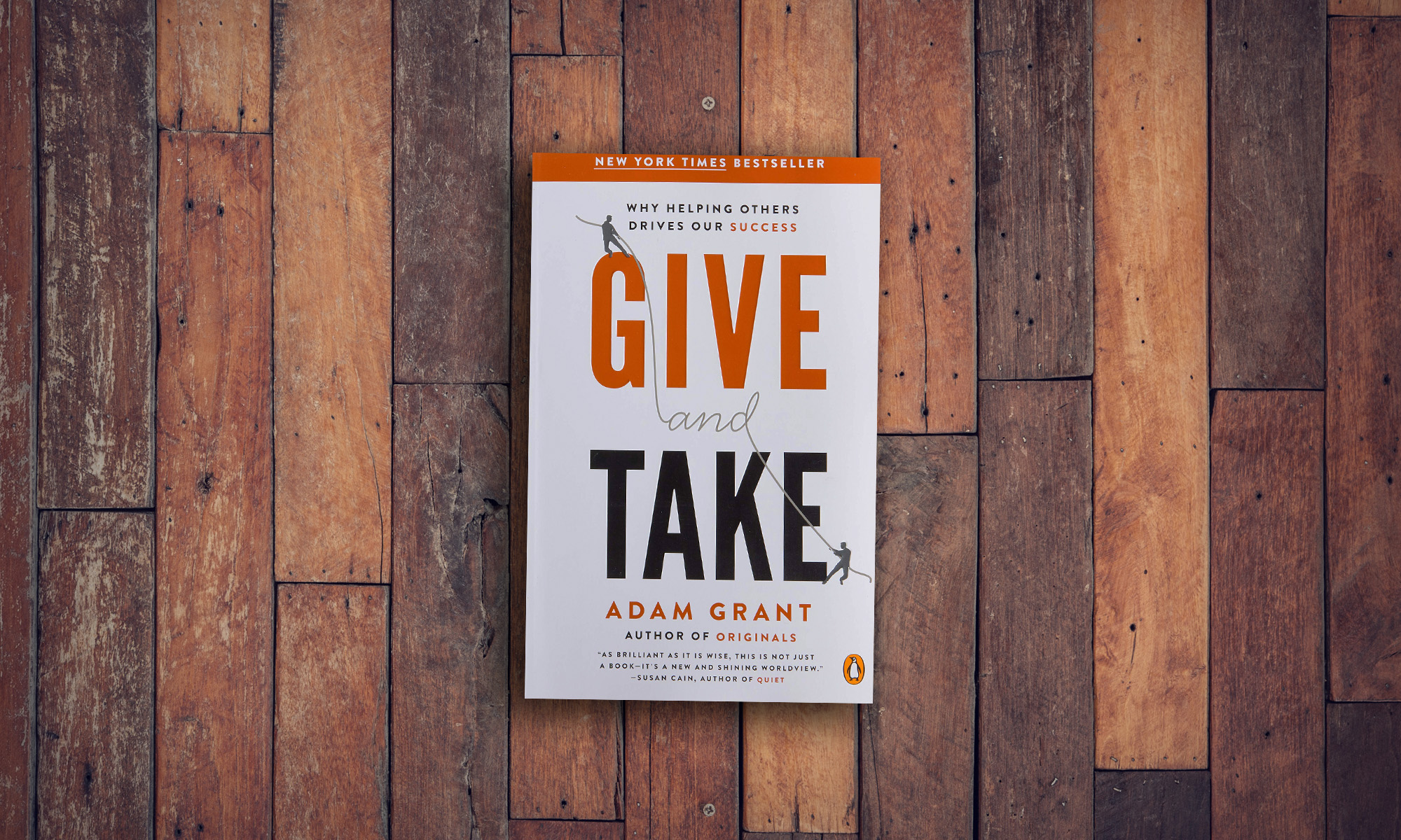 Photo of the book Give and Take from Adam Grant