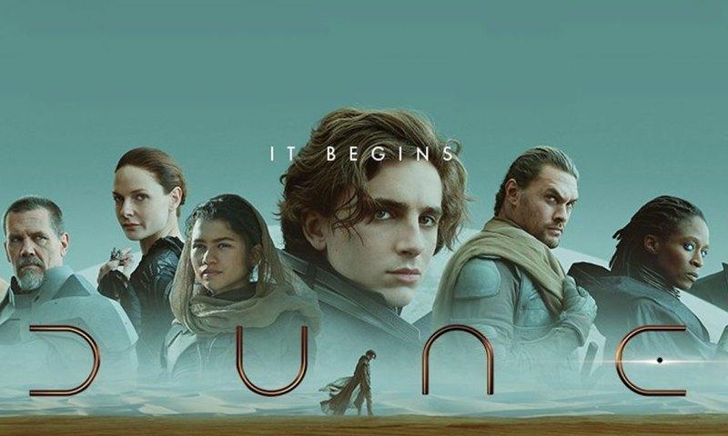 Movie poster of Dune (2021)