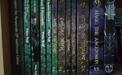 Onyx Path Vampire and Werewolf Books