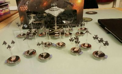 Star Wars Armada IMperial Fleet