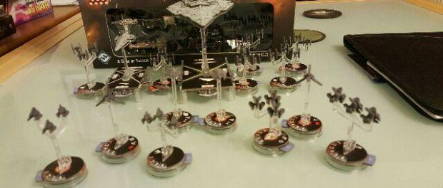 Star Wars Armada IMperial Fleet