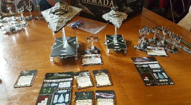 The first outing of Devastator: Star Wars Armada Battle Report