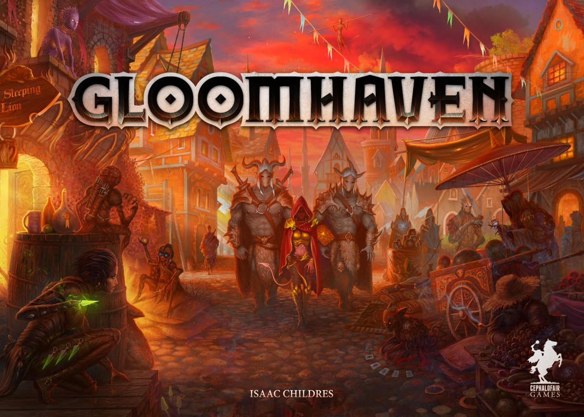 I'm Korg, this is Meik... My first adventure in Gloomhaven