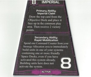 Imperial Strategy Card