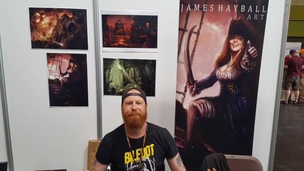 James Hayball Artist
