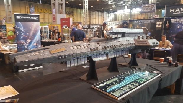 Large Dropfleet Battleship