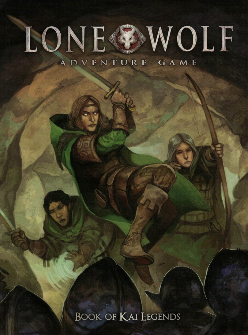 The Book of Kai Legends is the basic Games Master's guide for the Lone Wolf Adventure Game, providing two basic adventures and help on how to write more