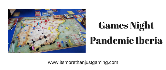 Gamesnight - Pandemic Iberia