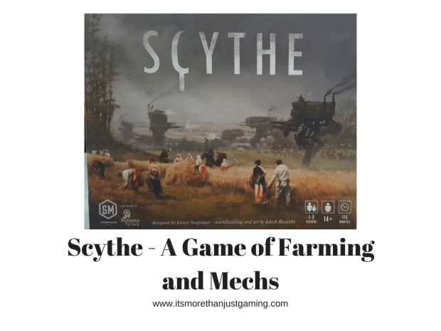 Scythe - a game of farming and mechs