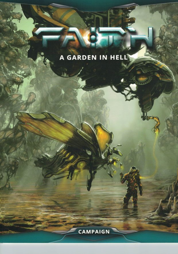 As you would expect, as an out of the box rpg, Faith: A Garden in Hell has a campaign manual to get you started