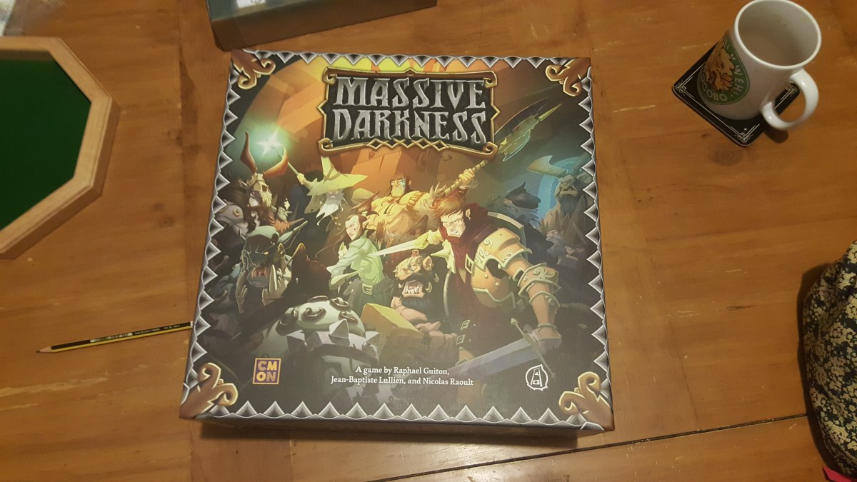 Massive Darkness - First Impression of a recent Kickstarter Release