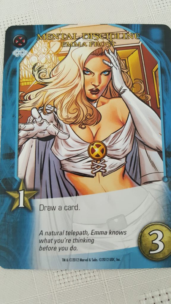 Emma Frost in Marvel Legendary