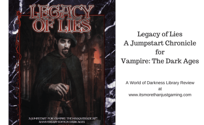 Legacy of LiesA Jumpstart ChronicleforVampire_ The Dark Ages