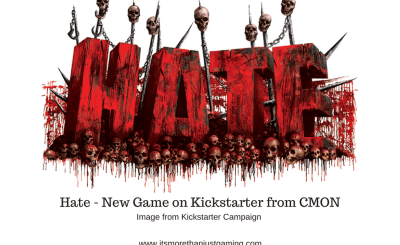 Hate - New Game on Kickstarter from CMON