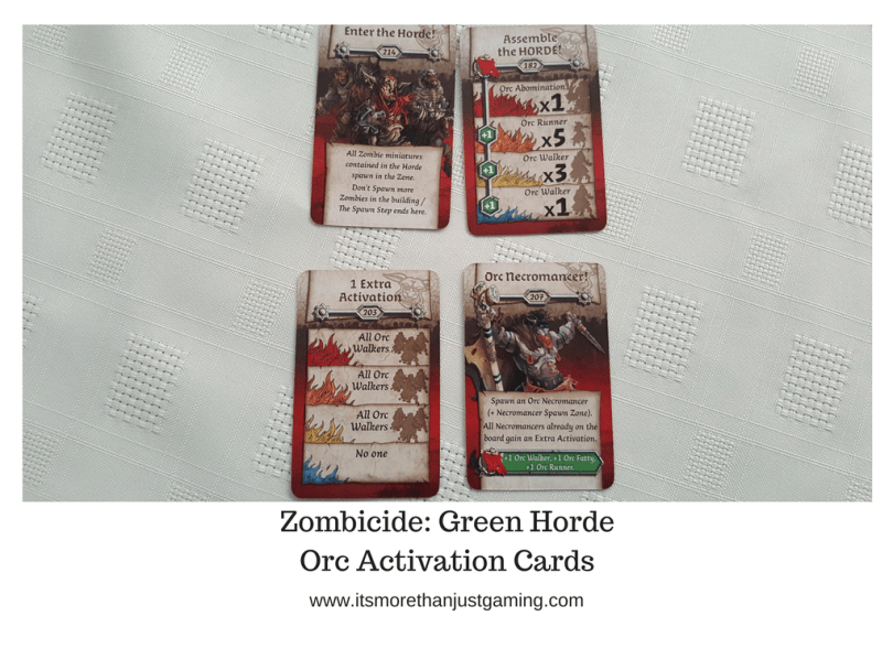 Zombicide_ Green HordeOrc Activation Cards