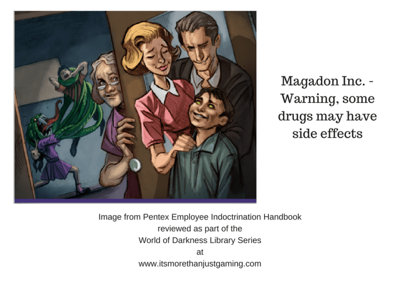 Magadon Inc. Warning may cause side effects