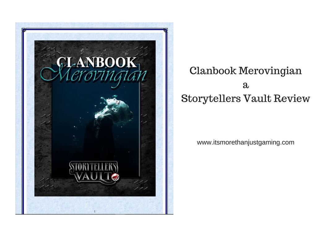 Clanbook Merovingian - A Storyteller's Vault Review