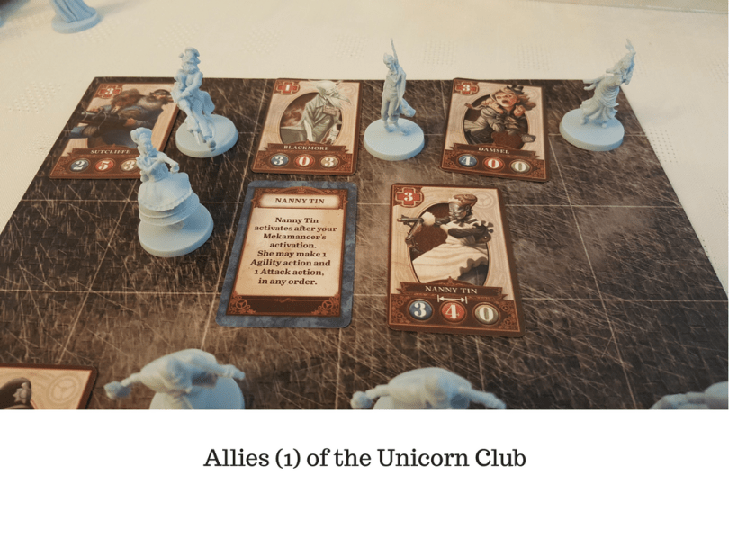 Allies (1) of the Unicorn Club