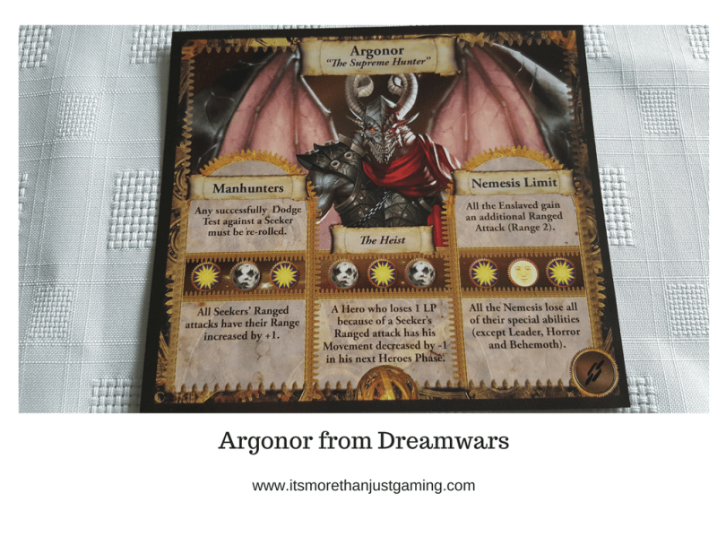 Argonor from Dreamwars