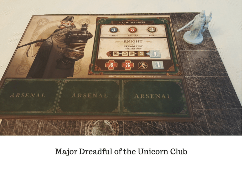 Major Dreadful of the Unicorn Club