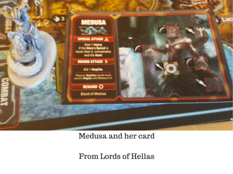 Medusa and her card