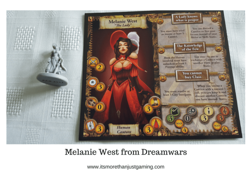 Melanie West from Dreamwars