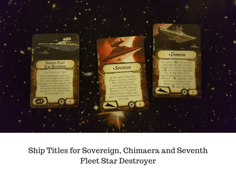 Ship Titles for Sovereign, Chimaera and Seventh Fleet Star Destroyer