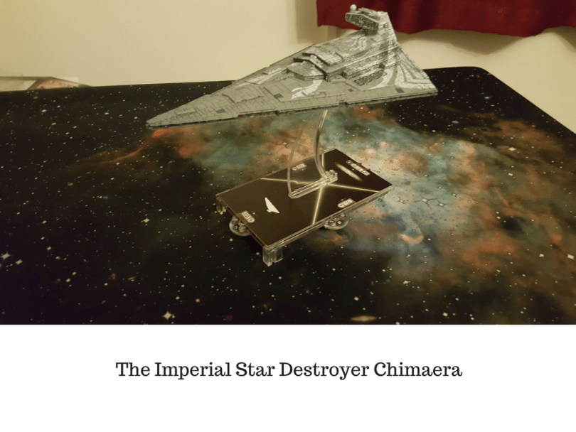 The Imperial Star Destroyer Chimaera