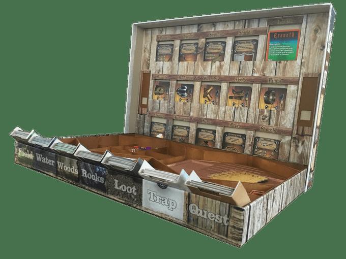 Dead Throne - Box Lid open