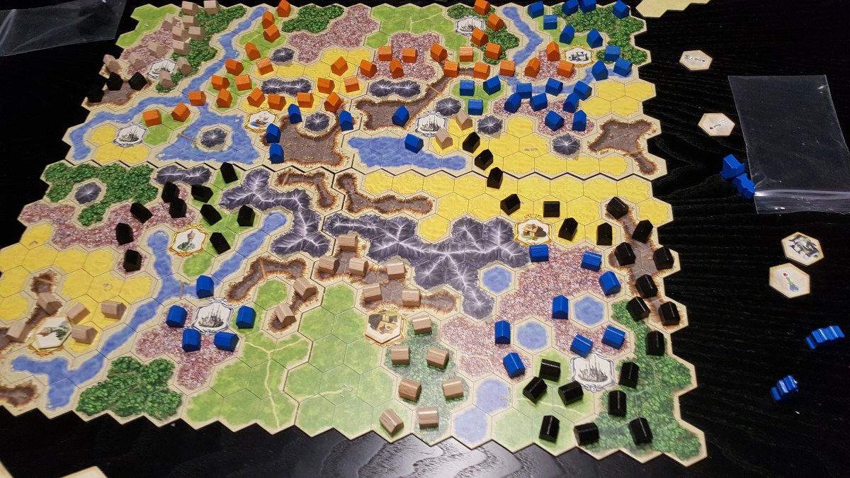 Kingdom Builder - Our first play