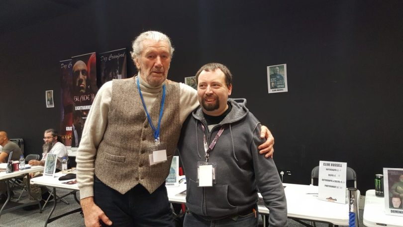 clive russell and me