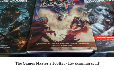 The Games Master's Toolkit - Re-skinning stuff