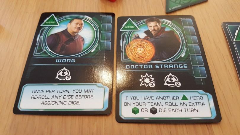 Dr Strange and Wong