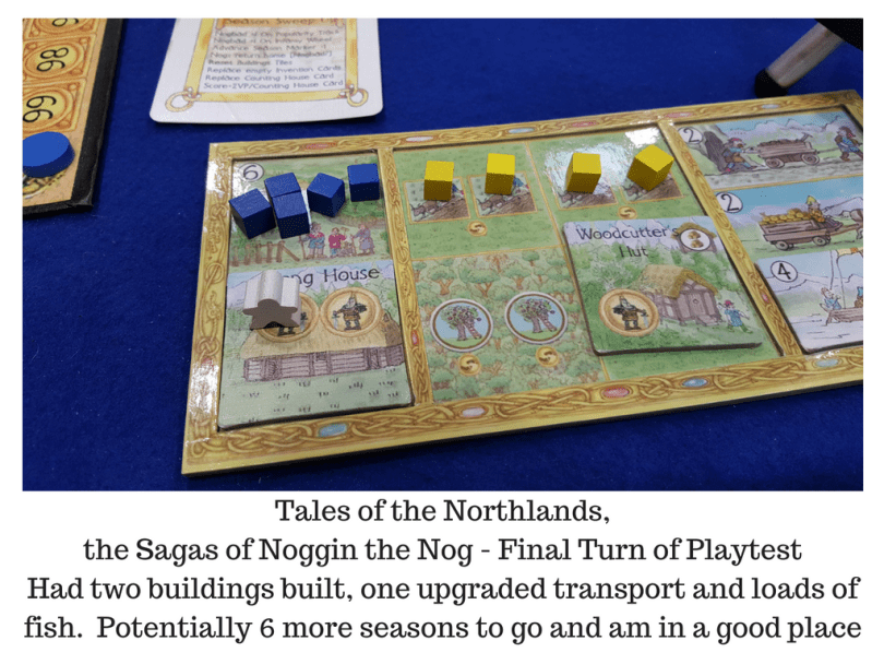 Tales of the Northlands, the Sagas of Noggin the Nog - My Final Board