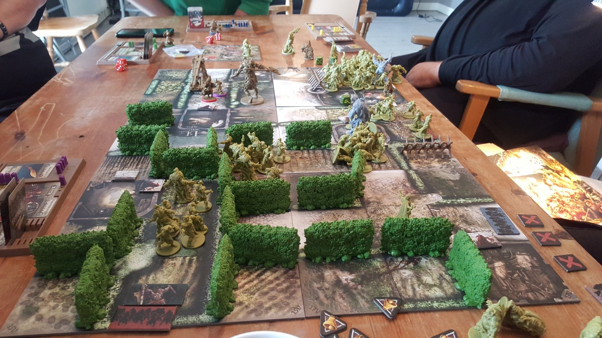 Playing Zombicide: Green Horde like a Pro