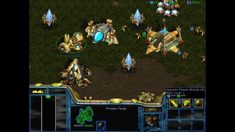 Protoss Base Screenshot
