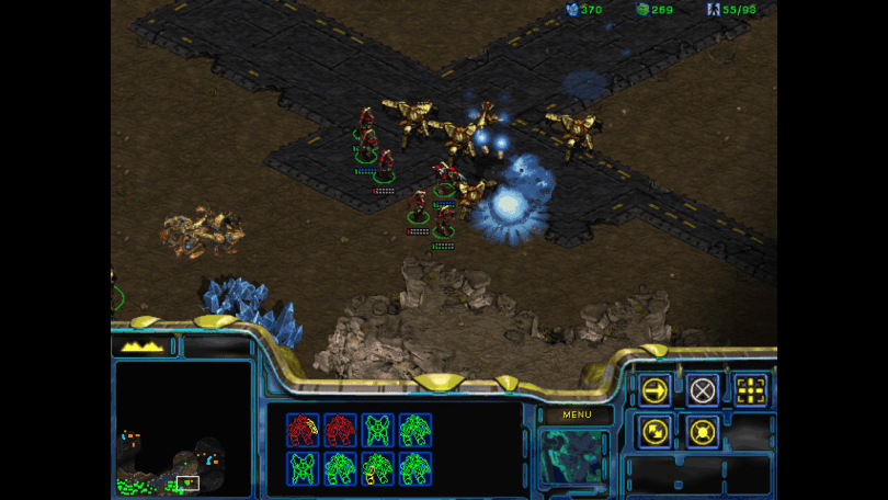 Starcraft Battle