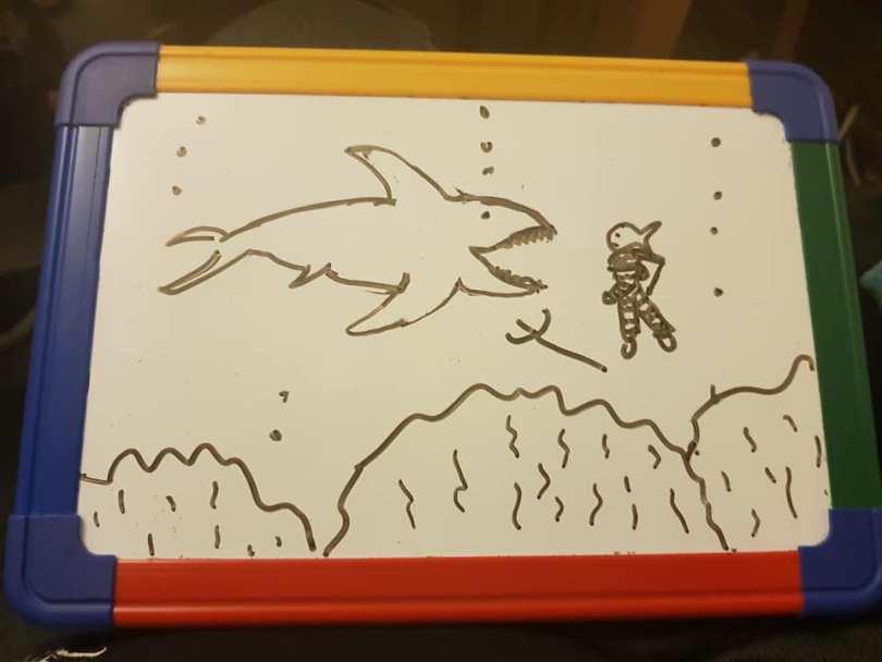 Triton vs Shark