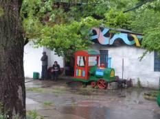 Lunar park amusement park in Chisinau