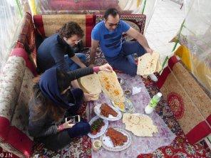 Delicious special kebab from Kermanshah
