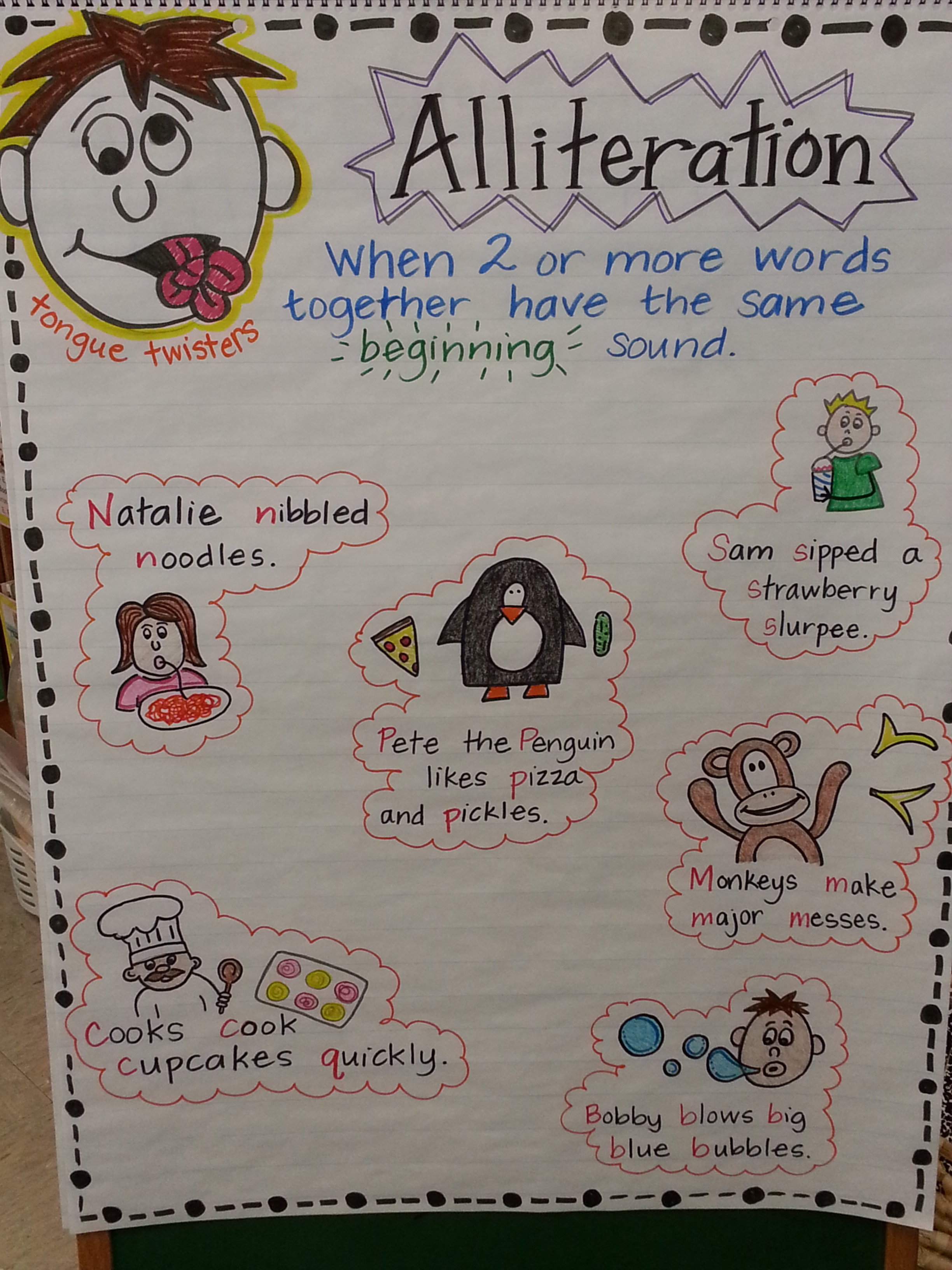Alliteration Poems For First Grade