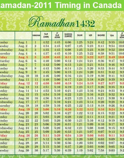 ramadan-calender-2011-canada-with-sehr-aftaar-timings