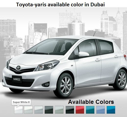 Toyota-yaris-all-color-2013