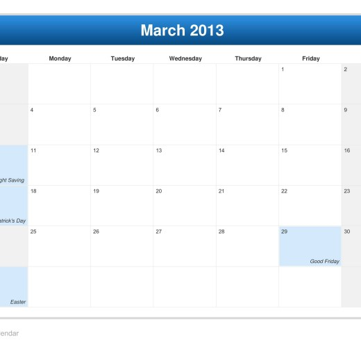calendar-march-month-2013-wallpapers