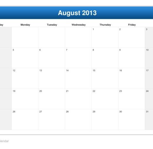 calendar-month-august-2013