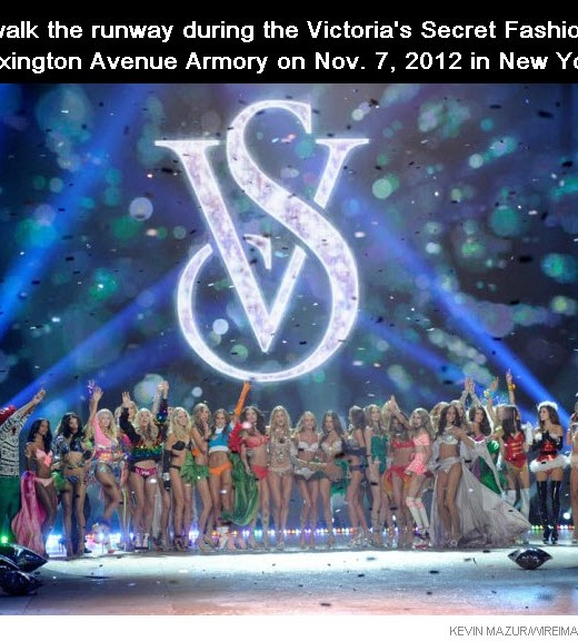 Model picture Victoria-Secret Fashion Show-2012-2013 opening picture wallpaper background
