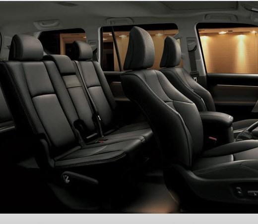 Toyota-Land-Cruiser-Prado-2013-interior-black-color-leather-seats Picture