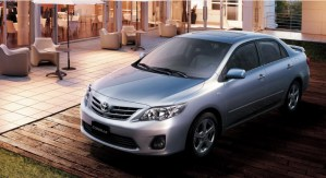 beautiful Toyota Corolla-2013 Shape-HD Wallpapers