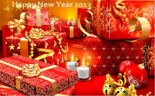 most romantic newyear 2013 hd wallpaper for couple